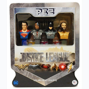 Justice League collectible set from Pez