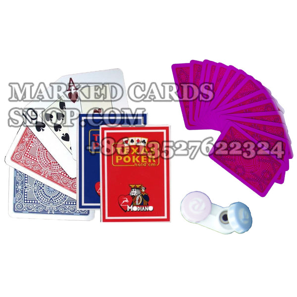 Modiano Texas Poker Invisible Ink cards