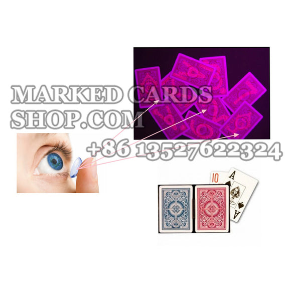 marked cards contact lenses to cheating in poker game