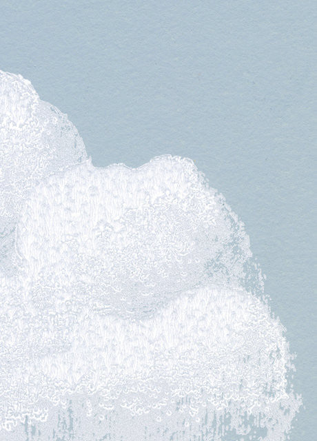 Bartsch Wallpaper | Cotton Clouds in Blue Smoke