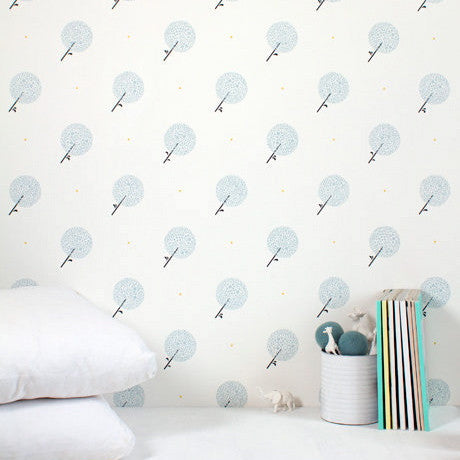 Marley+Malek Kids Wallpaper | Twinkle in Silver