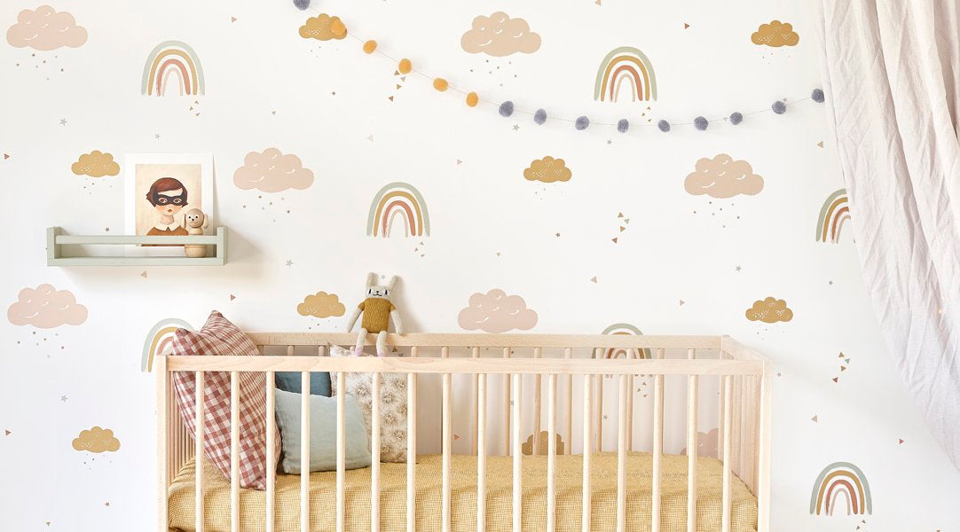 Hibou Home Wallpaper Rainbows