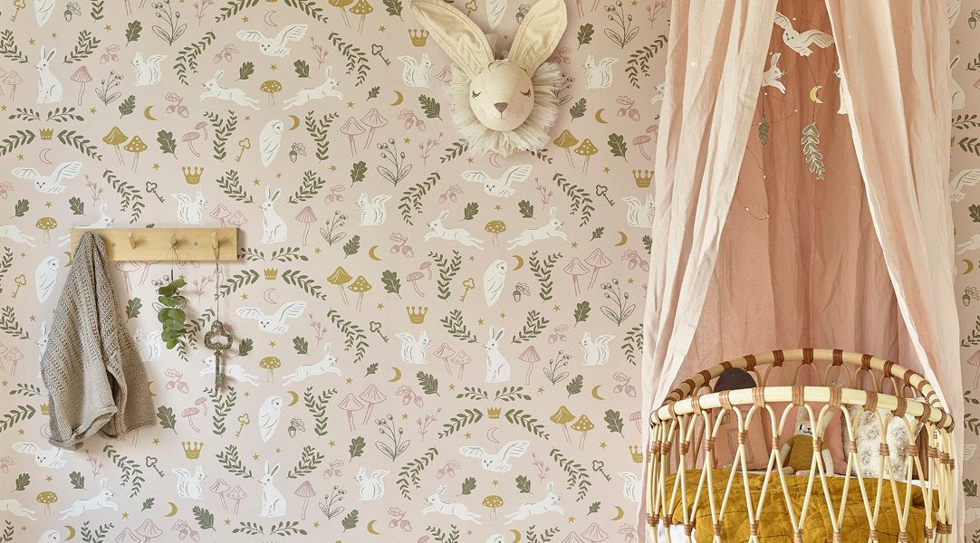 Hibou Home Wallpaper Woodland Wonders