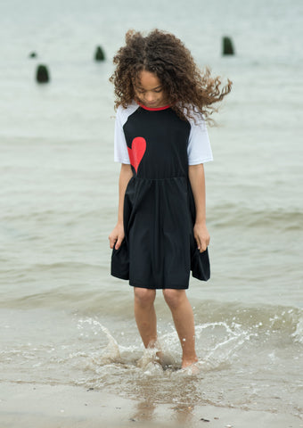 Heart Swim Dress