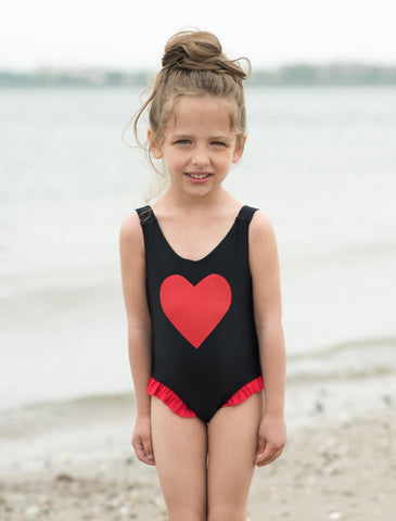 Heart Bathing Suit