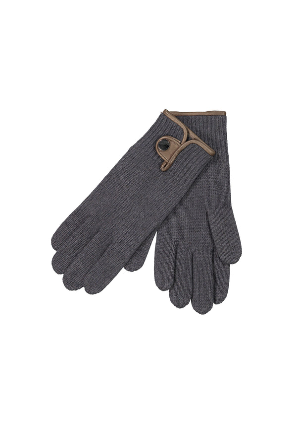 Cashmere Gloves Charcoal