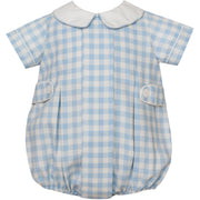 Claire & Charlie- Blue Gingham Bubble