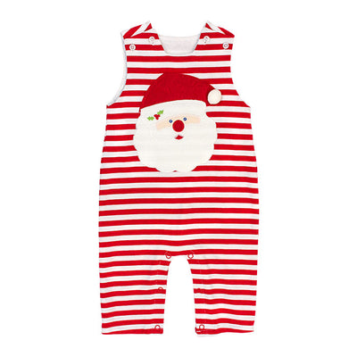 Bailey Boys- Santa Face Knit John John