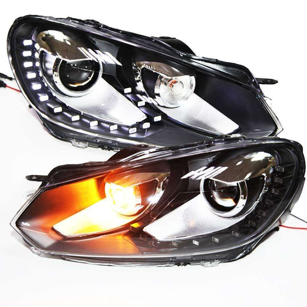 VW GOLF MK6 HEADLIGHTS