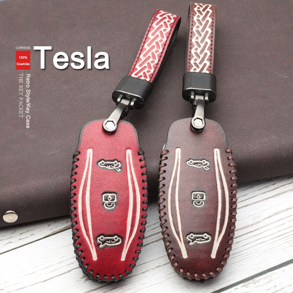 TESLA KEYCHAIN MODEL S
