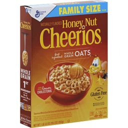 General Mills Honey Nut Cheerios, Family Size