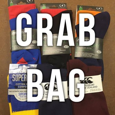 Rugby Imports Rugby Footwear Plus Grab Bag Performance Rugby Socks