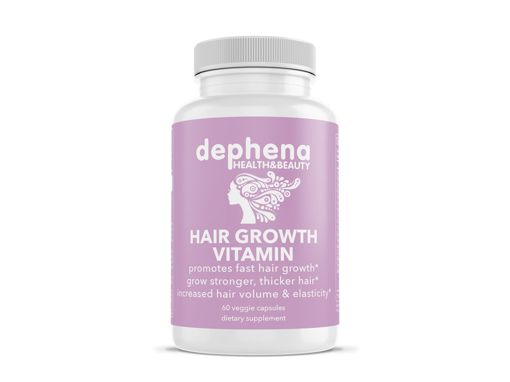 Dephena Hair Growth Vitamins Monthly Subscription