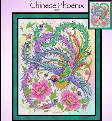 Chinese Phoenix Cross Stitch Pattern