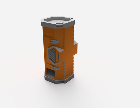 Digital STL File - Weapons Container Dice Tower - LegionTerrain