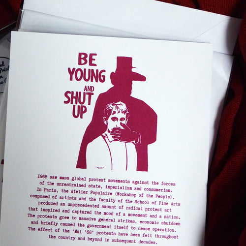 Be Young and Shut Up
