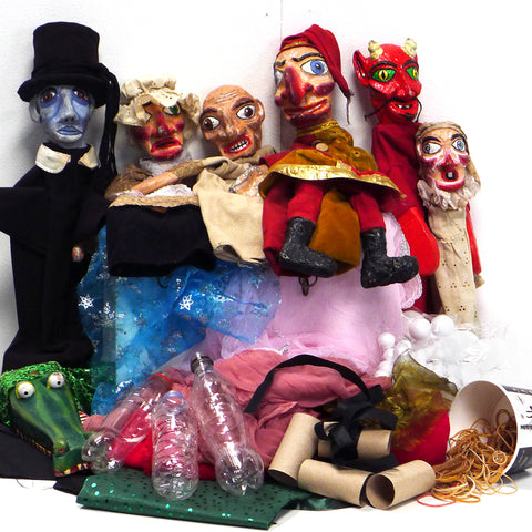 Family Puppet Making Workshop - Friday April 19
