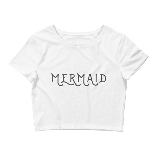 Women's Mermaid Crop Tee