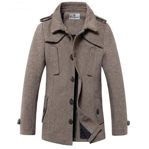 Nelson Captain's Wool Coat