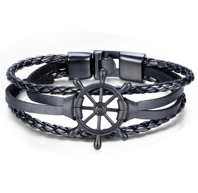 Black Stringed Steering Bracelet