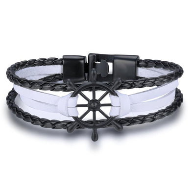 White Stringed Steering Bracelet
