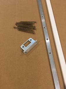 Door Guard TM Sidelited door unit RTO750-2 (double sidelite) with a 1 inch wide mull post  (Therma Tru continuous sill system)