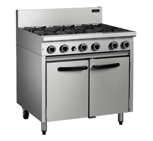 Blue Seal Cobra 6 Burner Gas Oven Range 900mm CR9D