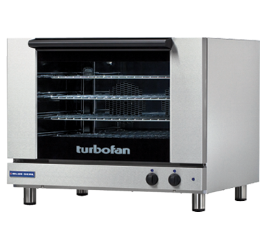 Blue Seal Turbofan 810mm(W) Electric Convection Oven 4 600 x 400mm Grid E28M4