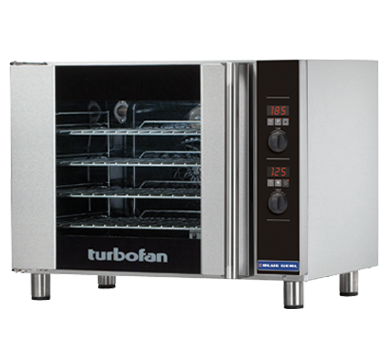 Blue Seal Turbofan 810mm(W) Electric Convection Oven 4 x 1/1GN Grid E31D4