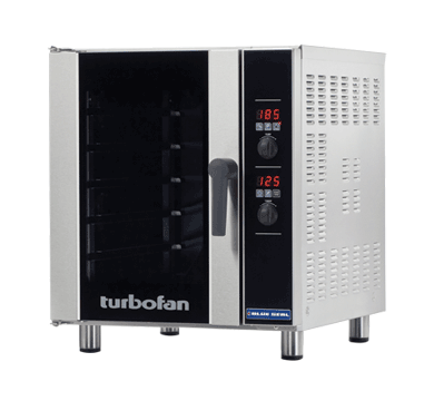 Blue Seal Turbofan 610mm(W) Electric Convection Oven 5 x 1/1GN Grid E33D5