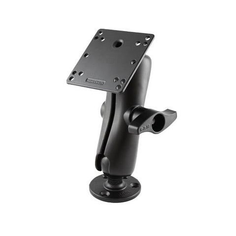 RAM D Ball Mount with Round & Square Plate VESA 75mm and 100mm Hole Patterns (RAM-D-101U-246) - RAM Mounts - Mounts China