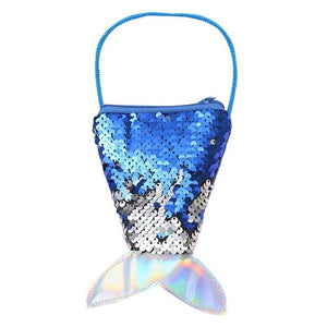 Girl Mermaid Tail Sequins Coin