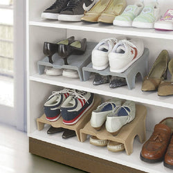 Compact Shoe Organizer for Shoe Racks