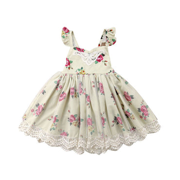 A Walk In The Park English Garden Floral Dress