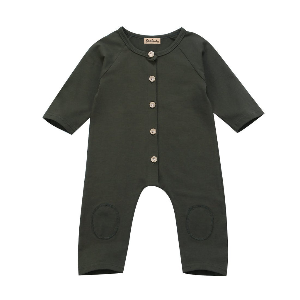 Green Hunter Romper