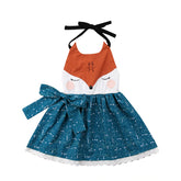 Little Starry Fox  Dress