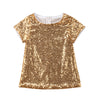 Gold Sequin Diva Dress