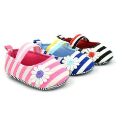 Sunflower Striped Slip On Shoes