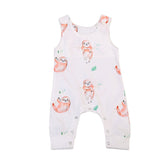 Happy Tree Sloth Romper