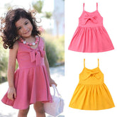 Spaghetti Strap Bow Sundress