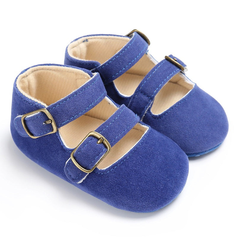 Summer Stacy Casual Strap Buckle Shoes