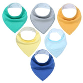 Spectrum Bandana Bib Set (5 Piece Set)