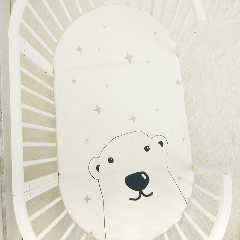 Twinkling Bear Baby Bed Sheet