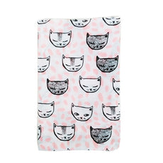 Sleepy Cat Swaddle Blanket