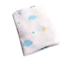 Starry Blue Skies Swaddle Blanket