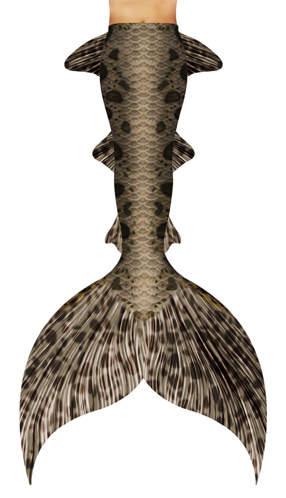 Leopard Shark Mermaid Tail