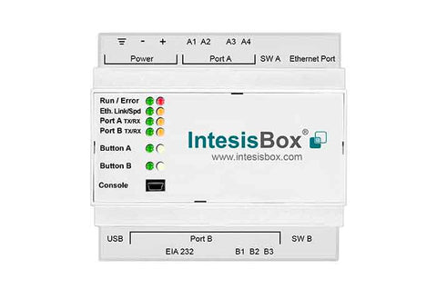 Intesis Mitsubishi Electric AC Multi systems to KNX Gateway