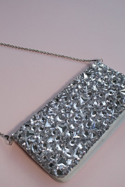 Madisson Embellished Clutch - Monokrome New York