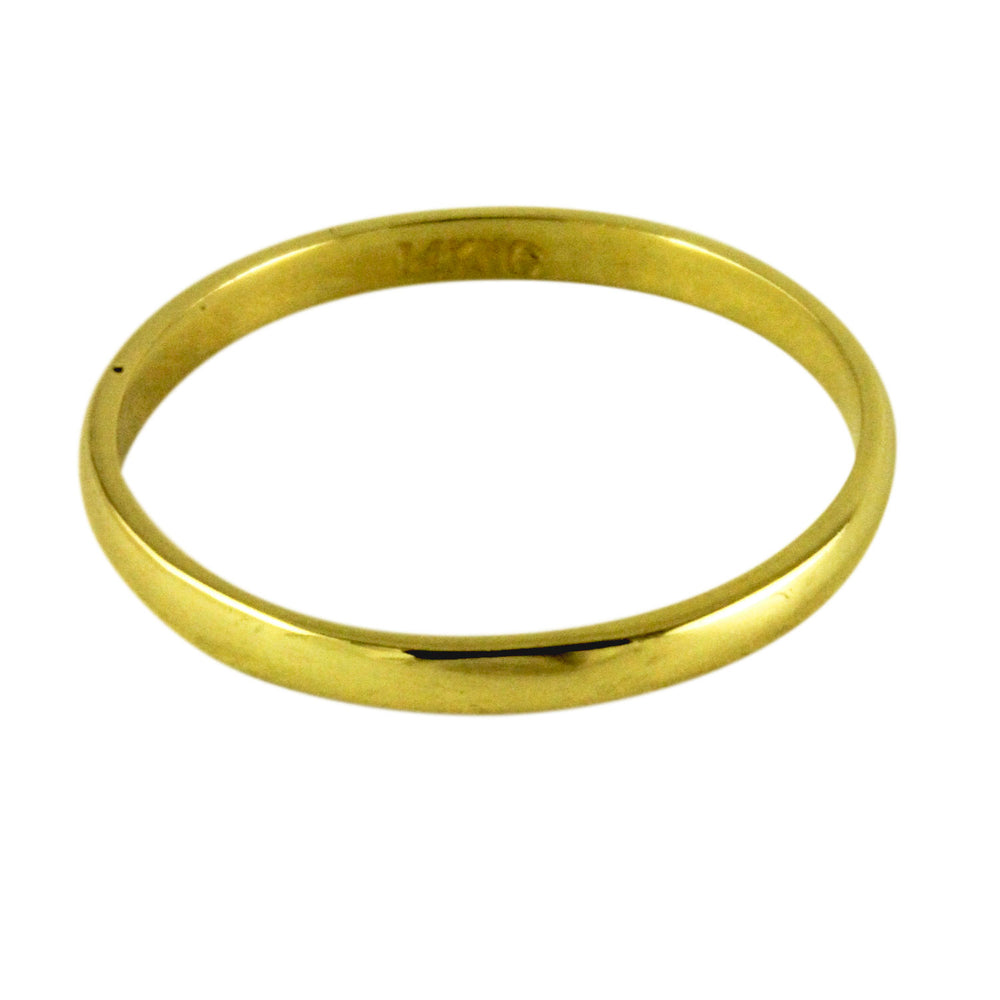 14k Yellow Gold Classic Band Ring