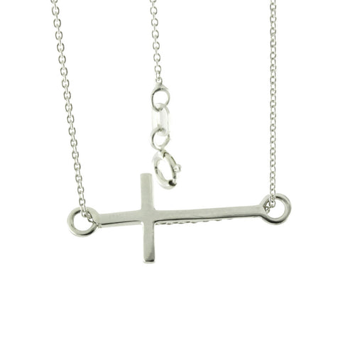 Sterling Silver Cross on a Chain